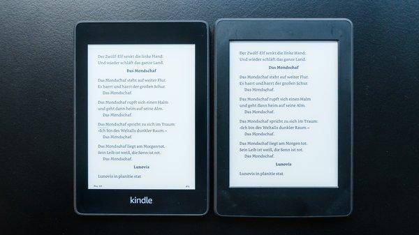 Kindle Paperwhite (2018) im Vergleich: Welchen E-Book-Reader von