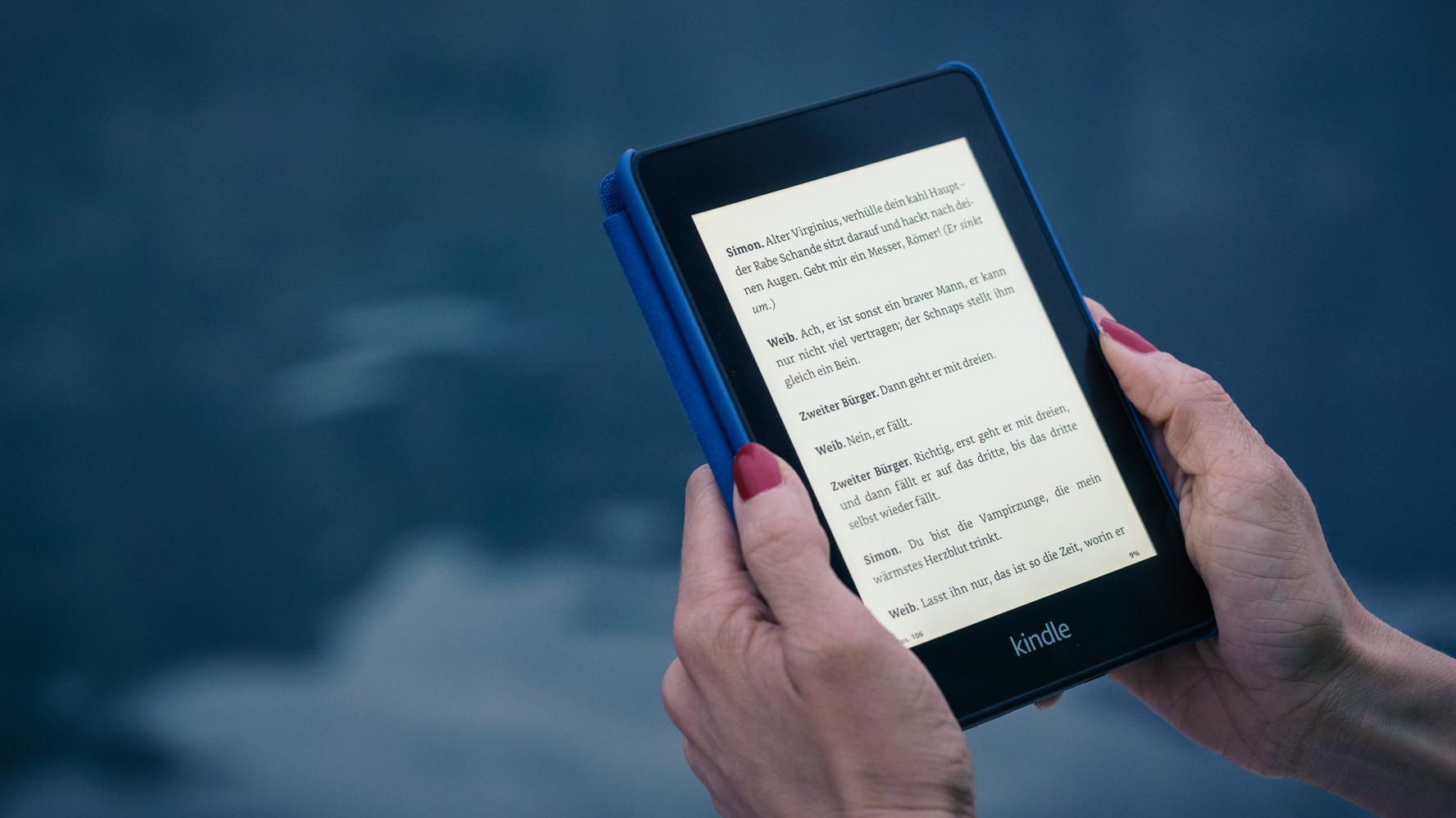 Kindle Paperwhite (2018) im Test: Der wasserdichte