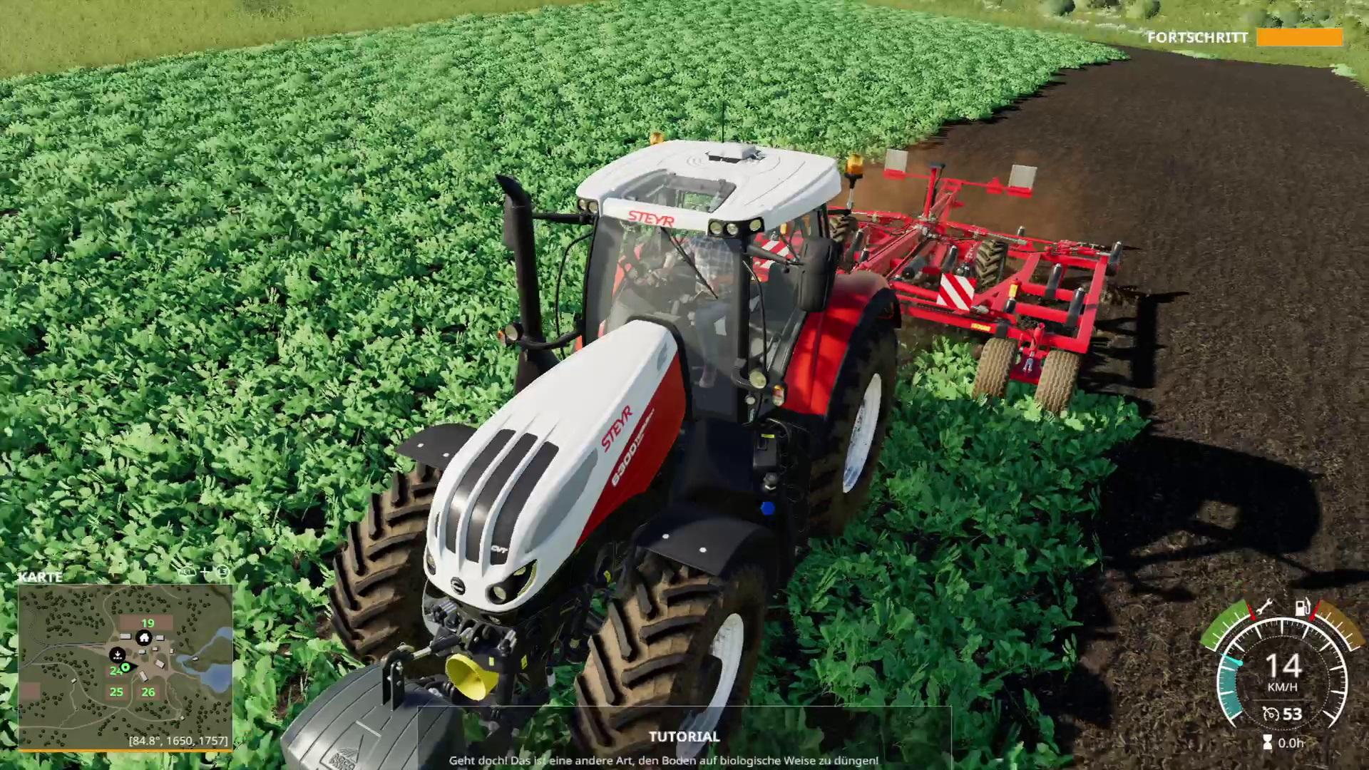 landwirtschafts simulator 19 ertrag erh hen und ernte. Black Bedroom Furniture Sets. Home Design Ideas