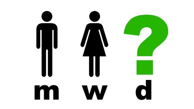 m/w/d bei Stellenanzeigen – was bedeutet die Abkürzung?