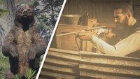 Red Dead Redemption 2: Alle Tiere - Fundorte, legendäre Tiere und Jagd-Tipps