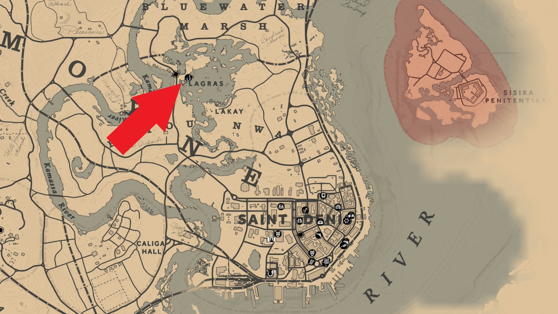 Red Dead Redemption 2 Legendare Tiere Karte.Red Dead Redemption 2 Alle Fische Fundorte Legendare