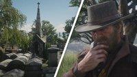 Red Dead Redemption 2: Le Trésor des Morts - Schatz-Fundort