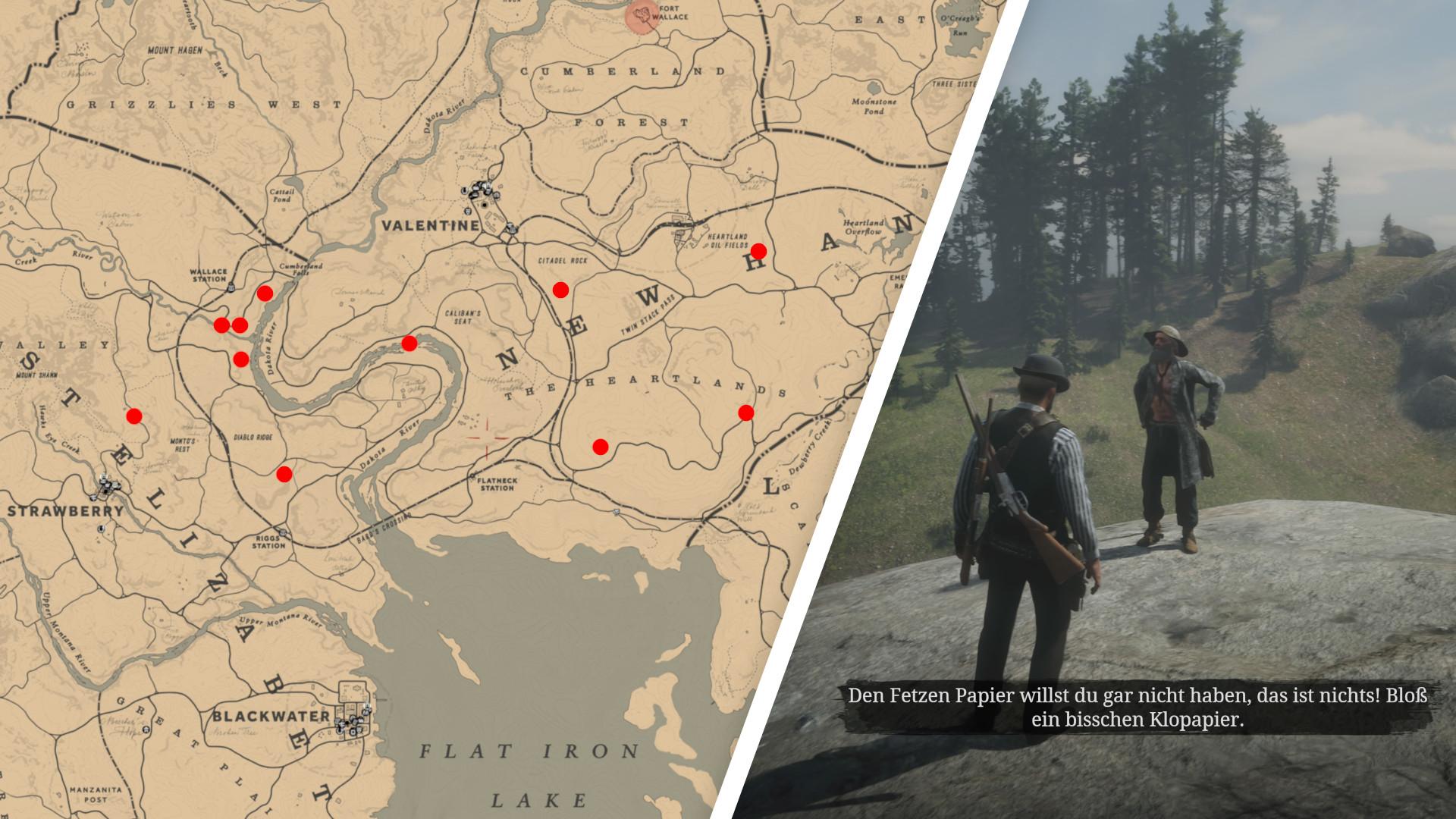 Red Dead Redemption 2 Schatzkarten