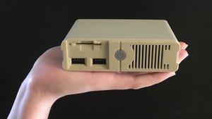 """PC Classic: Mini-""""Konsole"""" soll 30 DOS-Spiele beinhalten"""