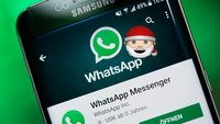 WhatsApp-Rätsel: Weihnachtsmann als Profilbild – das steckt dahinter