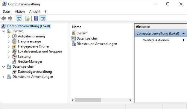 Windows 10: Computerverwaltung öffnen – so geht's