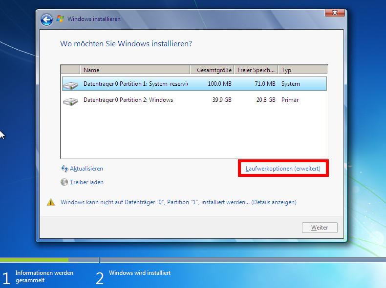 Windows 7 neu installieren - so klappts Schritt für Schritt