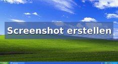 Windows XP: Screenshot erstellen – so geht's