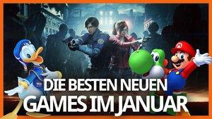 Die Releases im Januar 2019: Resident Evil 2, Kingdom Hearts 3 und mehr