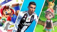 Nintendo Switch: 3 Spiele bei Amazon kaufen und bis zu 65 Euro sparen