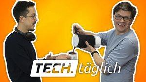 Ein S10 im Bild? Chrome heilt den Zurück-Button, unveganer Lautsprecher, ganz gute Gratis-Games – TECH.täglich