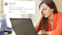 18 absurde Google-Bewertungen, bei denen du dir an den Kopf fasst