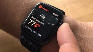 Apple Watch gegen Corona: Bringt die Smartwatch die Wende?