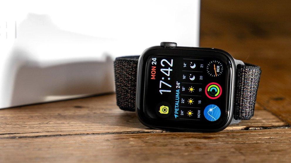 Apple Watch mit Gehörschutz: Noise-App auf der Smartwatch angeschaut