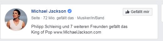 Facebook Grauer Haken