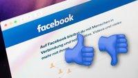 Umfrage zu Facebook: Daumen hoch oder runter für das Netzwerk?