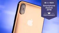 GIGA-Smartphone-Awards 2018: Das ist das schnellste Handy des Jahres