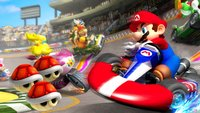 Baseball-Team spielt im Stadion Mario Kart 8 Deluxe