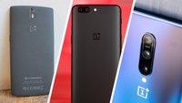 Vom OnePlus One bis zum OnePlus 7 Pro: Die Flaggschiff-Smartphones von OnePlus im Rückblick