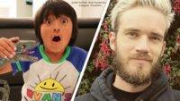 YouTube: 7-Jähriger verdient mehr Geld als PewDiePie