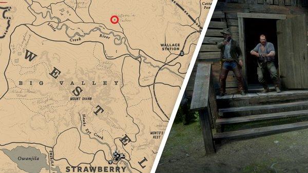 Red Dead Redemption 2 Watsons Blockhutte Karte.Red Dead Redemption 2 Alle Uberfalle Einbruche Und