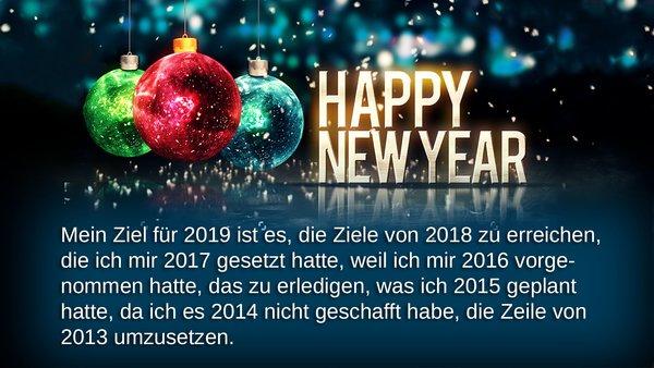 Die 30 Lustigsten Besten Neujahrswunsche Silvester Spruche 2018 19