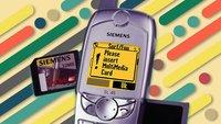 Der Zeit und dem iPhone voraus: Erinnerungen an mein Siemens SL45i