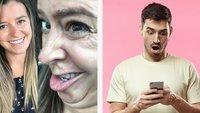 42 Selfies von Frauen, bei denen du nicht glauben wirst, dass es die selbe Person ist