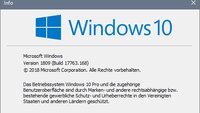 Wie lautet die aktuelle Windows-10-Version?