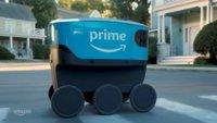 Test gestartet: Autonomer Roboter liefert Amazon-Pakete aus