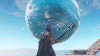 Riesiger Eis-Ball in Fortnite gesichtet, könnte der neue Endboss sein
