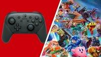 Switch Pro Controller + Smash Bros. Ultimate bei MediaMarkt zum Bestpreis