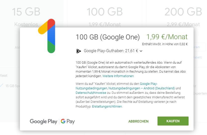 Was Ist Google One