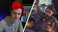 Ninja wird vom Streamer-Thron gestoßen – von einem Sea of Thieves-Streamer