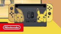 Nintendo Switch Pikachu & Evoli Edition so günstig wie noch nie