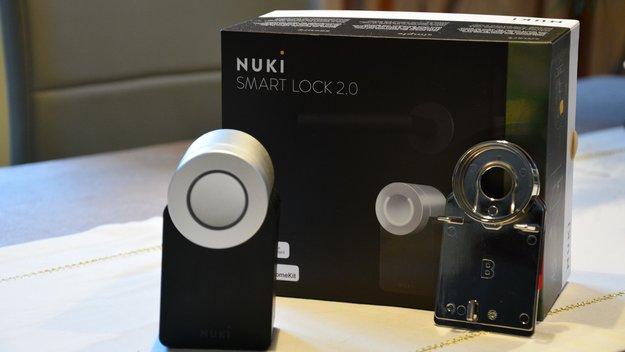 nuki smartlock 2 0 im test so wird das smartphone zum wohnungsschl ssel giga. Black Bedroom Furniture Sets. Home Design Ideas