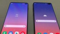 Samsung Galaxy S10 und S10 Plus: Neue Bilder erlauben direkten Vergleich