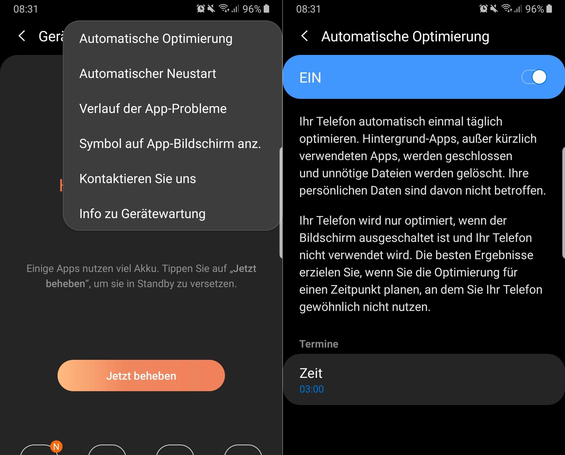 Samsung-Handys mit Android 9 Pie: Neue Funktion optimiert die Galaxy