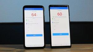 Benchmark-Vergleich: Samsung Galaxy Note 9 vs. OnePlus 6T McLaren