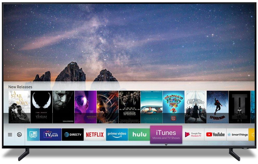 Apple öffnet seine Inhalte für Samsung-Fernseher