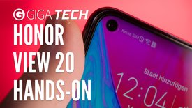 Honor View 20 im Hands-On