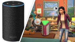 Alexa in Die Sims 4: Das Gerät steuert vielleicht bald deine Sims