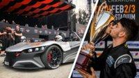 Racing-eSportler gewinnt bei Rennen im realen Leben