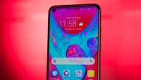 Honor View 20 im Hands-On-Video: Randloses Smartphone mit Loch im Display