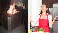 28 Fotos von Leuten, die an Küchentechnik verheerend scheitern