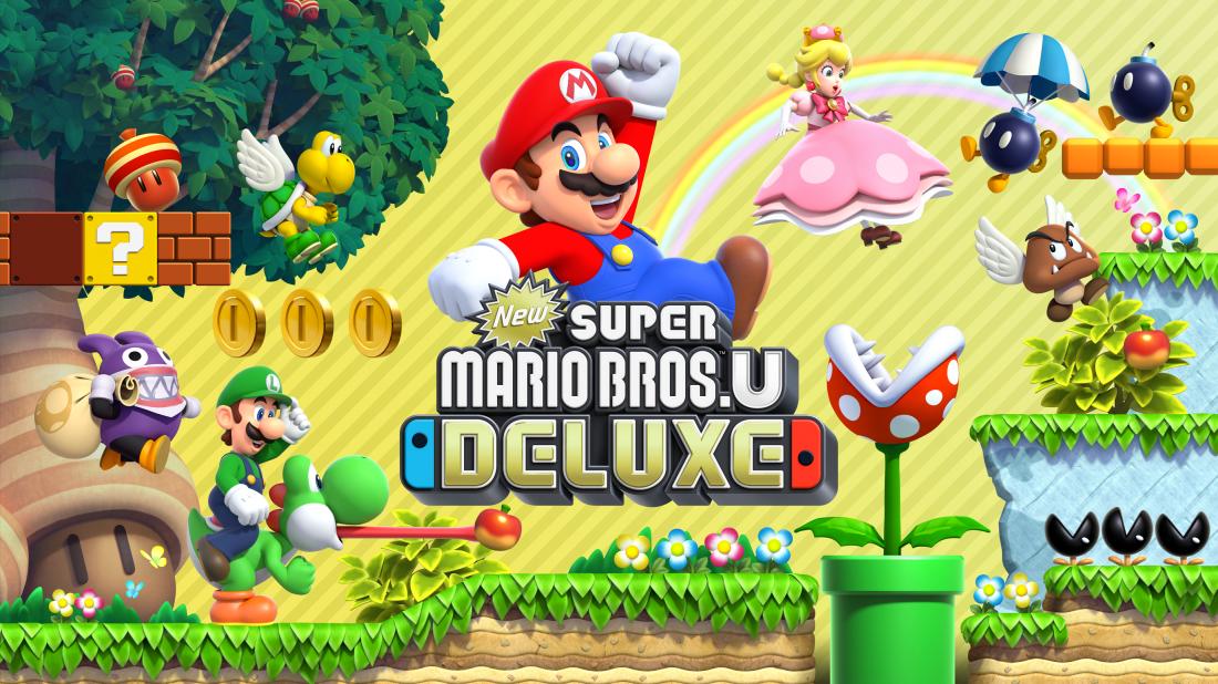 New Super Mario Bros. U Deluxe für Nintendo Switch