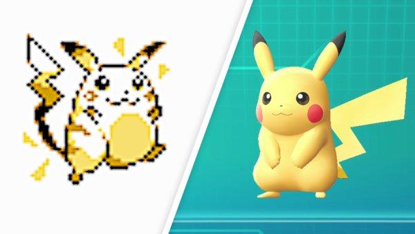 Pokemon Rot Karte.So Sehr Haben Sich Pokémon Seit Den Ersten Spielen Verändert