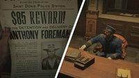Red Dead Redemption 2: Alle Kopfgeldjagden im Walkthrough