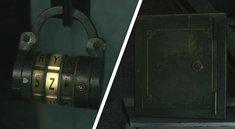 Resident Evil 2: Safe-Codes für alle Tresore und Kombinationsschlösser